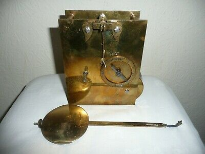 Antique, Tavern Clock ?  Chain Driven Fusee Movement With Pendulum. Excellent
