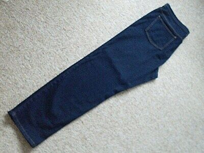 "Ladies Jeans. Size 20,""Marks & Spencer"" Dark Denim, Stretchy. Ex.cond."
