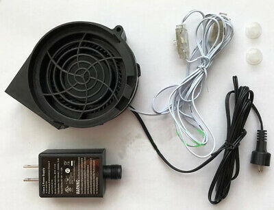 Airblown Inflatable Replacement 1.0a FAN Blower Motor With 12v/1.0a Adapter