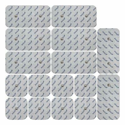 Set D'Electrodes Pour Electrostimulateurs  16 Electrodes Pads Patch Comp