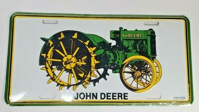 John Deer Tractor License Plate - New and Sealed