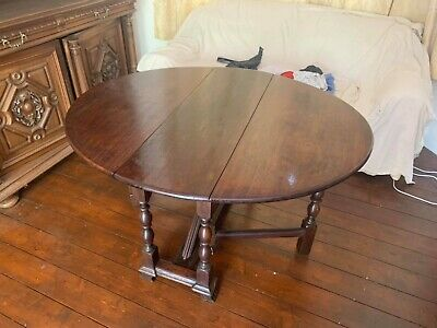 ANTIQUE LARGE GEORGIAN 18TH CENTURY Mahogany GATE LEG DROP LEAF DINING TABLE