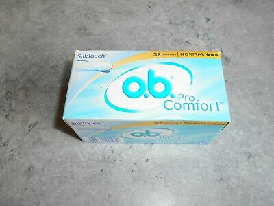 Lot De 32 Tampons O.b. Pro Comfort - [ Silk Touch ] - Normal