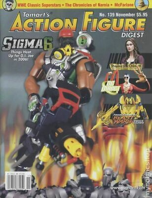 Tomart's Action Figure Digest #139 FN 2005 Stock Image