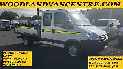 2009 59 Plate Iveco Daily 35C12 Crew Cab Tipper Pickup