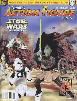 Tomart's Action Figure Digest #109 FN 2003 Stock Image