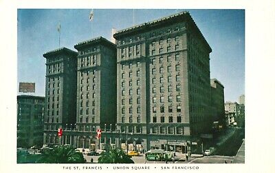 San Francisco, CA, The St. Francis Hotel, Unused Chrome Vintage Postcard h152