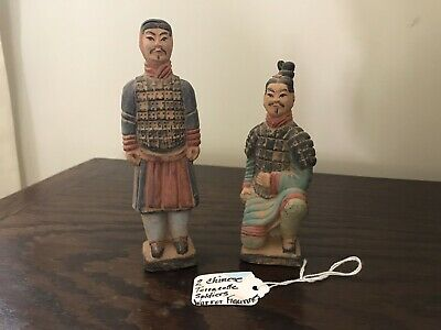 Chinese Terra Cotta Soldiers/Warriors Figurines