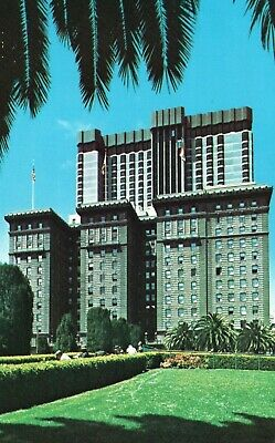 San Francisco, CA, Hotel St. Francis, Union Square, Chrome Vintage Postcard h153