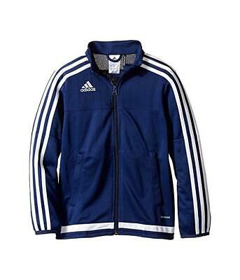 adidas Big Kids Youth Tiro 15 Training Athletic Soccer Track Jacket Blue S22328