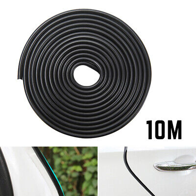 10m Car Door Boot Edge Protectors Strip Trim U Shape Guard Seal Rubber Black UK
