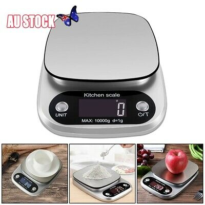 Kitchen Scales Food Baking Weight Digital LCD Electronic Weighing Scale 10kg/1g