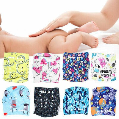 Baby Washable Reusable Real Cloth STANDARD Hook-Loop Pocket Nappy Diaper Insert