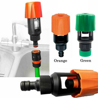 Kitchen Mixer Tap To Garden Water Hose Pipe Connector Adapter Outdoor Universal