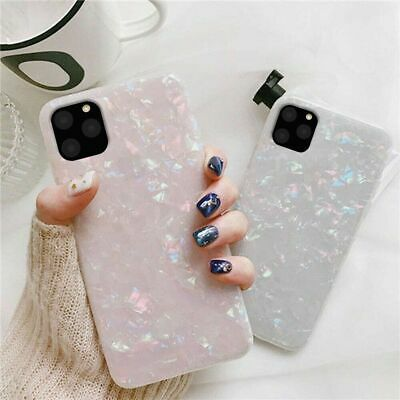 Luxury Case for Apple iPhone 11 Pro Max ShockProof Marble Phone Silicone Cover