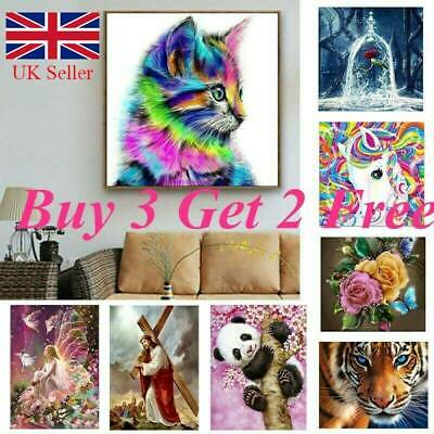 5D Diamond Painting Embroidery Cross Craft Stitch Pictures Arts Kit Decor Xmas