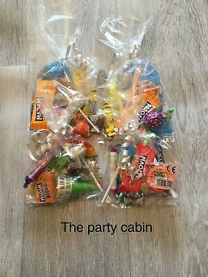 childrens prefilled 9 item surprise party bags loot bags unisex/girls/boys