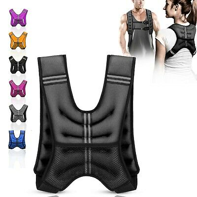 XN8 3.5/5/8/10kg Weighted Vest Adjustable Jacket Running Weight Loss Gym Fitness