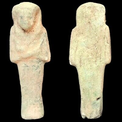 EGYPTIAN HIEROGLYPHIC SHABTI, LATE PERIOD 664 - 332 BC (6) Large Over 11 cm !!!!