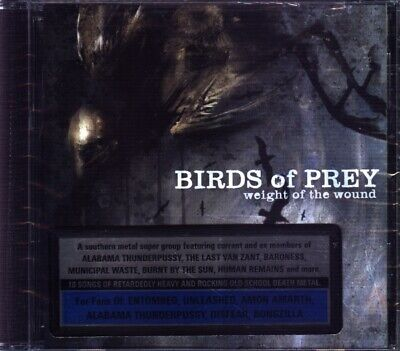 Birds of Prey - Weight of the Wound CD