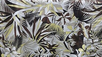 PRINTED STRETCH COTTON POPLINE FABRIC - SOLD BY 1.80 metres
