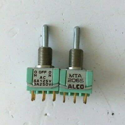 Alco CST-023TA CST-023 Toggle Switch Used in Audio Gear