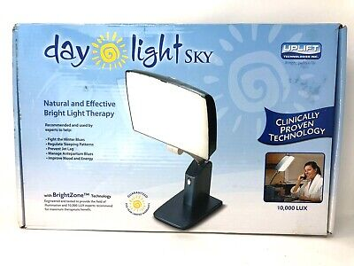 Carex Day-Light Sky Bright Light Therapy Lamp 10,000 LUX for Sleep Therapy + SAD