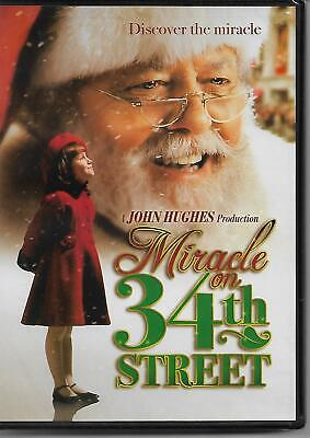 Miracle on 34th Street DVD Richard Attenborough Mara Wilson Elizabeth Perkin