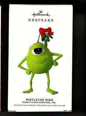 Mistletoe Mike Ornament 2019 Hallmark Ornament Disney Monsters IncFREE SHIPPING