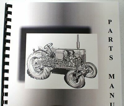 Model H Parts Manual for Scoopmobile Tractor