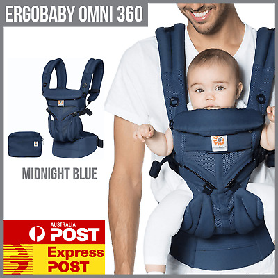 ERGOBABY CARRIER OMNI 360 COOL AIR MESH ERGO BABY CARRIER Midnight Blue