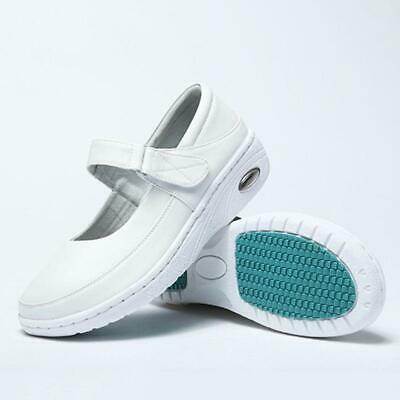 Newest Nurse Shoes Mary Jane Slip Resistant Comfort White Nursing Work Shoes Hot