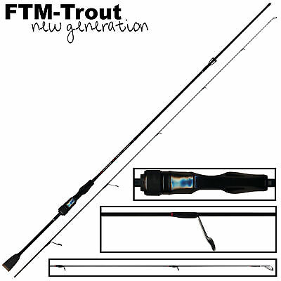 FTM Area Wave Spinnrute Forelle Spoon Fishing Tackle Max