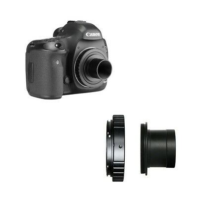 T2 Ring & 1.25in Telescope Adapter for Canon EOS Lenses and Astrophotography ~