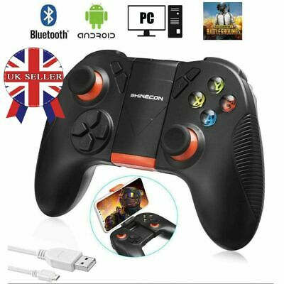 Wireless Bluetooth Pro Controller Gamepad + Charging Cable for Android/ iOS/ PC