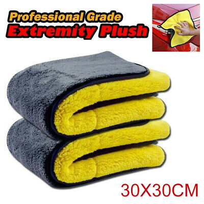 Super Absorbent Car Washing Microfiber Car Cleaning Towels Drying Towel Cloth UK