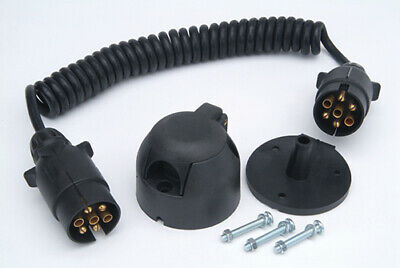 Rcc120N Ring Automotive 12N Coiled Cable Kit  (Towing Accessories) Towing