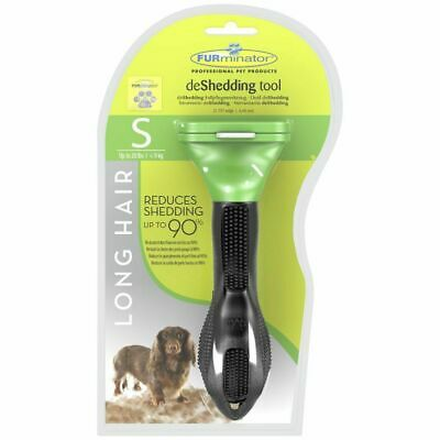 FURminator deShedding Tool for Long Hair Dogs Small  UNDER20lbs,  (USA SHIPPER)