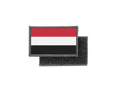 #6755 YEMEN Word Tag Embroidery Sew On Applique Patch