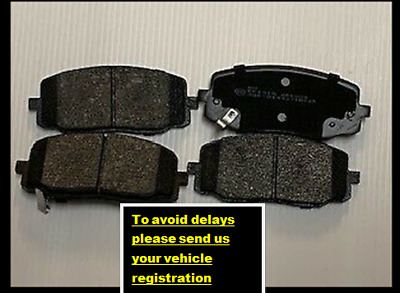 Hyundai I10 2008-2014 Front Brake Pads Set NEW GENUINE UNIPART