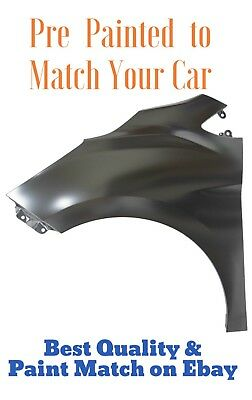 New PRE PAINTED Driver LH Fender for 2012-2017 Chevy Sonic w Free Touchup