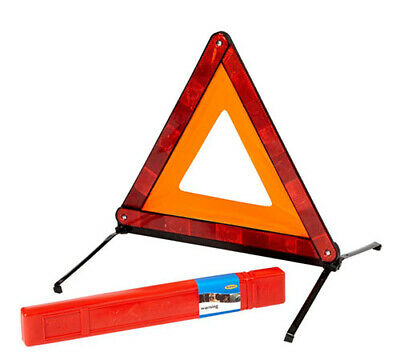 New! RCT1360 RING AUTOMOTIVE EMERGENCY WARNING TRIANGLE in CARRY CASE