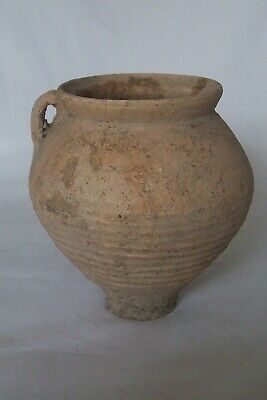 Roman  cream Ware pottery vessel c. 3rd - 4th century A.D.