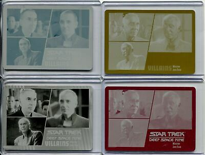 Star Trek Deep Space Nine H & V Archive Ex. Printing Plate Base Card Set #45