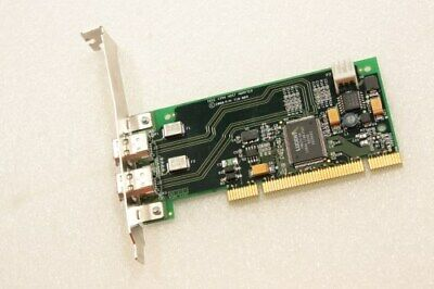 ST Lab F252 PCI 2+1 Port IEEE 1394a Firewire Controller Card w// Cable /& Software