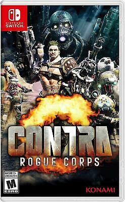 Contra: Rogue Corps (Nintendo Switch, 2019) Brand New Factory Sealed