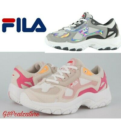 SNEAKERS FILA OVERSTATE F Low uomodonna tipo Disruptor