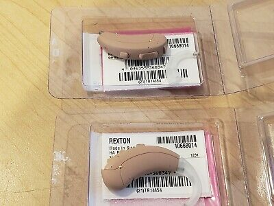 Pair of Rexton Day 6+ Behind the Ear Beige Hearing Aids