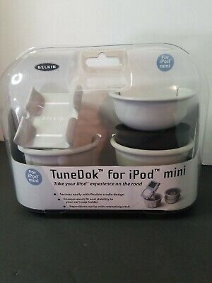Belkin TuneDok Car Mount Cup Holder for Apple iPod Mini 1G 1st Gen