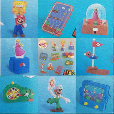 McDonalds Happy Meal Toy 2018 Super Mario Characters Plastic Toys - Various